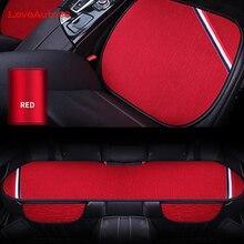 3 pcs האוניברסלי רכב מושב האחורי הפתוח מושבי לנשימה מגן אביזרי רכב כרית מחצלת ארבע עונות אביזרים