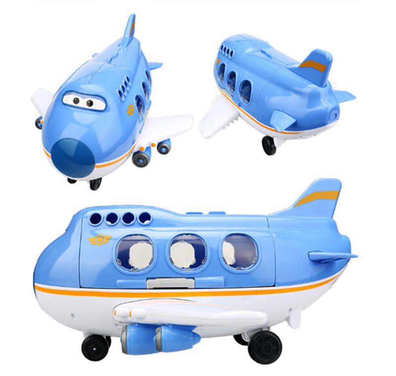 HOT Sales Super Vleugels Luchthaven Scene Control Center Toren met Vliegtuigen Actiefiguren Speelgoed Transformatie Speelgoed voor Kerstcadeaus
