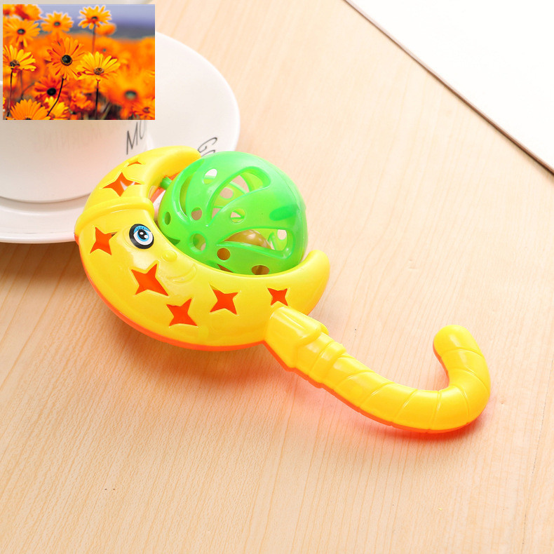 Moon Baby Rattles Mobiles Toy Rattles for Newborns Kids Funny Intelligence Grasping Educational Mobiles Little Shaker Baby Gifts (5)