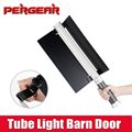 Pergear Video Camera Tube Light Sunshade Barn Door for ICE LED Tube Light MTL-900 II Pro 298 LED P0024133