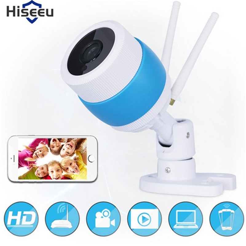 hiseeu 720P HD Wifi Camera Network Surveillance Night Camera Indoor Home P2P CCTV Camera Wifi Function Onvif Camera Baby Monitor annke 720p hd wifi camera network port surveillance night camera indoor home p2p cctv camera wifi function onvif two way audio