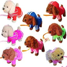 USB charging electric smart Teddy dog will walk / sing dance early education English storytelling Tang poetry
