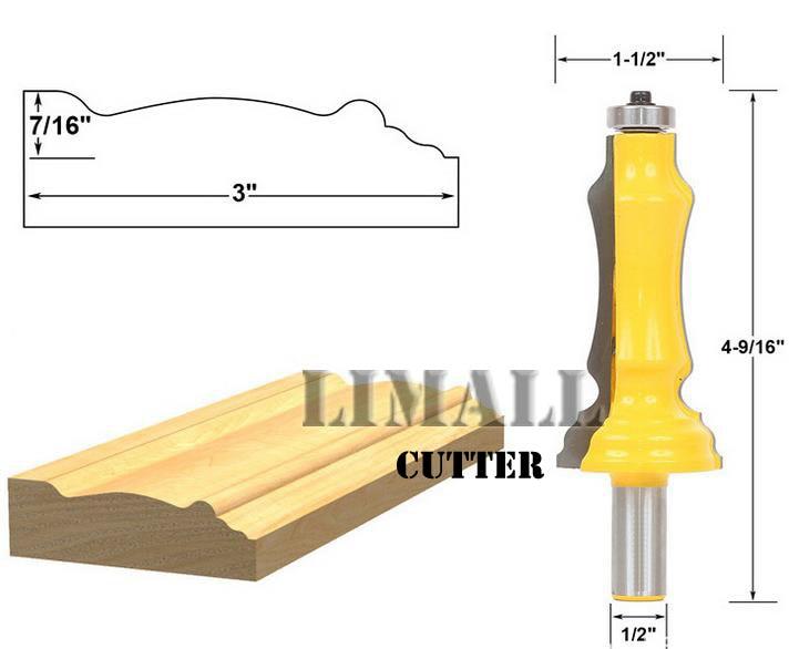 1/2 SHK long handrail milling cutter woodworking knife -1/2 * 3 inches футболка shk mode shk mode sh019ewrjs36