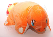 Pocket Monster Pokmon Charmander Short Plush PP Cotton Stuffed Toys Cushion