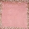 Garantia de 100% de Mulheres Lenço de Seda Lenço de Bolinhas E Leopardo Mini Praça do Lenço da Seda 50 cm Moda 2017 Senhora Do Escritório Pequeno Bandana