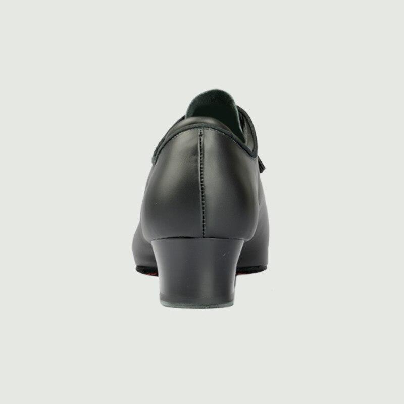 Chaussures de danse latine femme en cuir véritable chaussure de danse moderne professeur Jazz aérobic danse baskets Coupons 100% véritable BD 417 chaud - 6