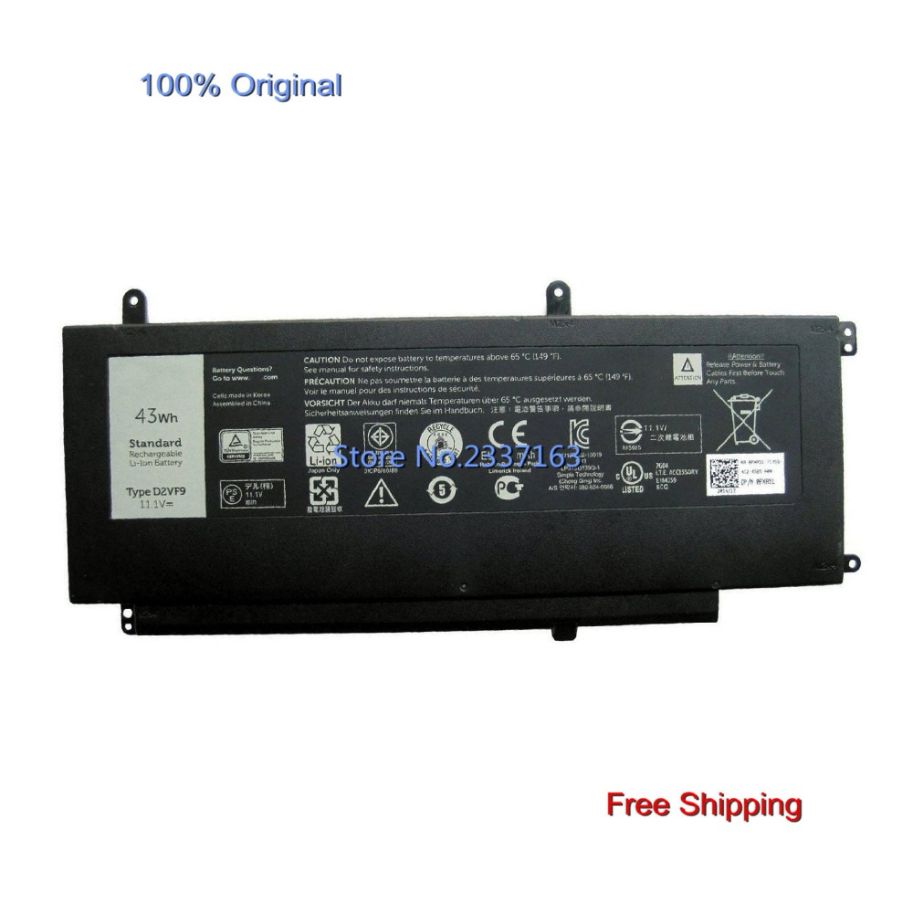 IECWANX 100% new Laptop Battery D2VF9 (11.1V 43Wh) for Dell Inspiron 15 7547 0PXR51