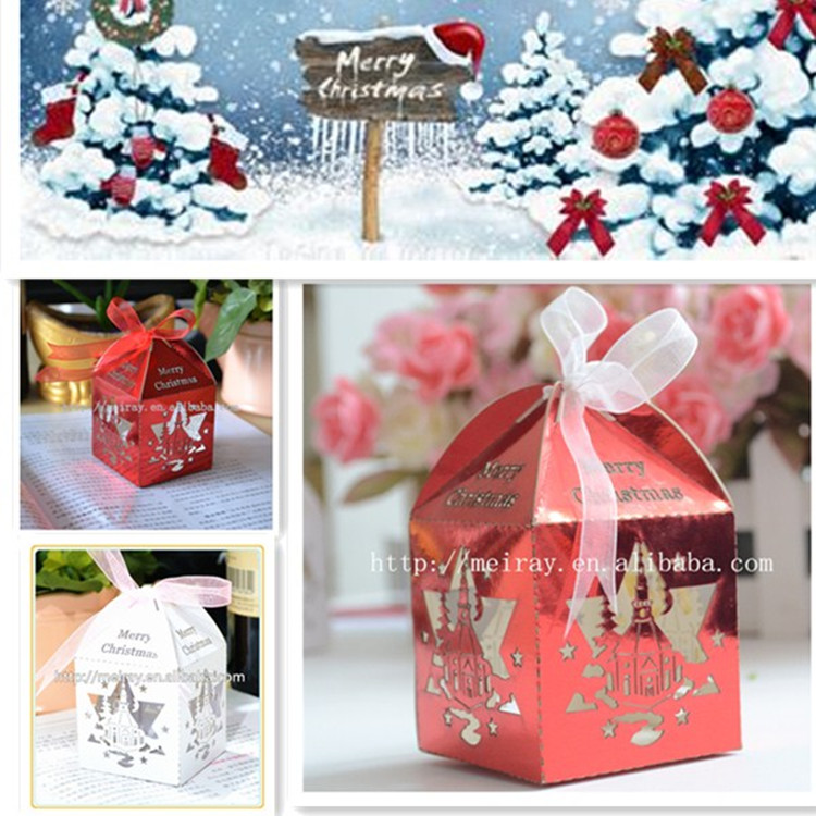 Paper In Crafts Wholesale Christmas Chocolate Paper Laser Cut Candy Box For Gifts Paper Laser Paper Laser Cutpaper Cut Laser Aliexpress
