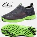 Clax 2016 verão sapatos casuais homens sapato andando super leve malha respirável sapatos sapatos de água de praia unisex treinador moda