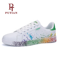 PU TIAN New Arrival Unisex Skateboarding Shoes Lover Men Women Outdoor Athletic Sneakers Breathable High Quality