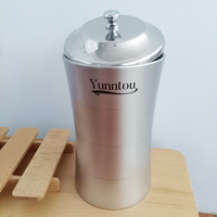 Yunntou Tea Caddy Coffee Food Storage Jar Stainless Steel Canister Tea Container