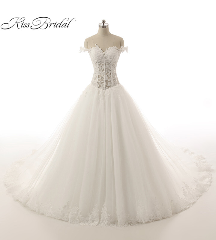 Aliexpress.com : Buy Ball Gown Wedding Dresses 2017