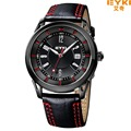 Nova eyki eet8756l moda cusual marca relógios men quartz relógio de pulso das mulheres pulseira de couro relógio masculino mujer relogios feminino