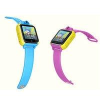 V83 ילדים שעונים חכמים שיחת GSM חיוג שעוני יד לילדים 3 גרם מצלמה 2.0 M מד צעדים שעון מעורר GPS SOS עבור בטוח מתנה הטובה ביותר