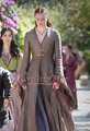 Dress Косплей Костюм Игра престолов Sansa Старка Vintage Средневековый Dress Хэллоуин Костюмы для Взрослых Женщин Косплей Костюм