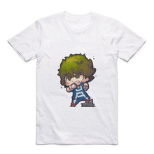 New Animation My Hero Academy Anime T-shirt Izuku/Rick/Morty/Levi Ackerman Modal Cartoon Funny Shirt Men