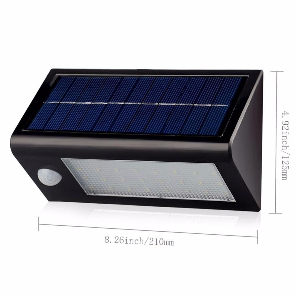 Venta Caliente Impermeable 32 Led Luz Solar Al Aire Libre