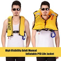 Adult Automatic Manual Inflatable Life Jacket Sailing Boating Swimming Survival Vest