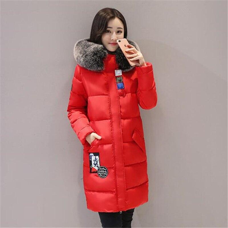 Shop2942053 Store Warm Winter High Quality Thicker Faux Fur Parkas Outerwear Women Medium-long Parka Ukraine Jacket Manteau Femme TT3116