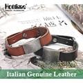 Free shipping Fashion Italian Genuine Leather Bracelet Multicolor Charm Bracelets Men Wristband Adjusted Size Mens Bangle PG007