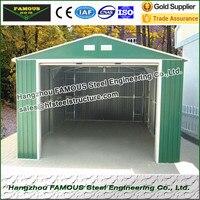 조립식으로 만들어진 강철 구조물은 차 주차 및 상품 저장을 위한 sheds