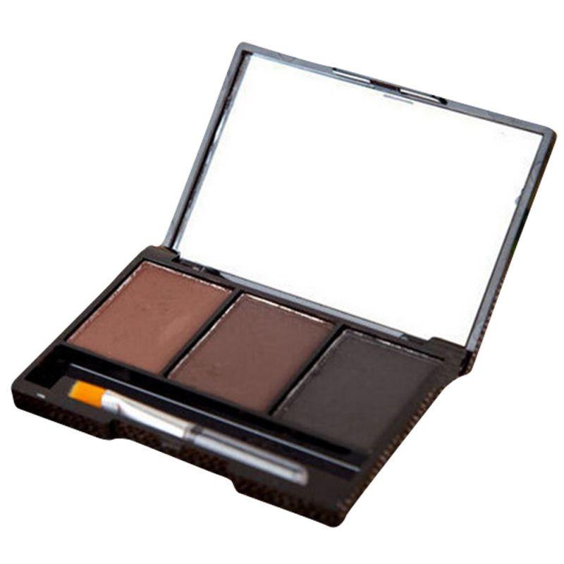 3 Colors Set Professional Makeup Eyeshadow Palette Eyebrow Makeup Palatte paleta de sombra Contour Palette Maquiagem Women 14