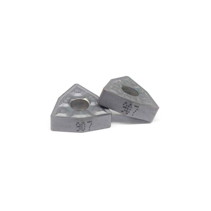 WNMG080408 TF IC907 External Turning Tools Carbide Insert WNMG 080408 Lathe Cutter Tool Tokarnyy Turning Insert