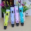 2020 Myriwell 3d pen 3d pensBright color 1 75mm filament3 d pen Finger sleeve 3d printed pen best kid gifts review