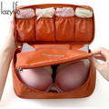 LAZYLIFE Necessarie Beautician Vanity Necessaire Trip Women Travel Toiletry Wash Bra Underwear Make Up Makeup Case Cosmetic Bag