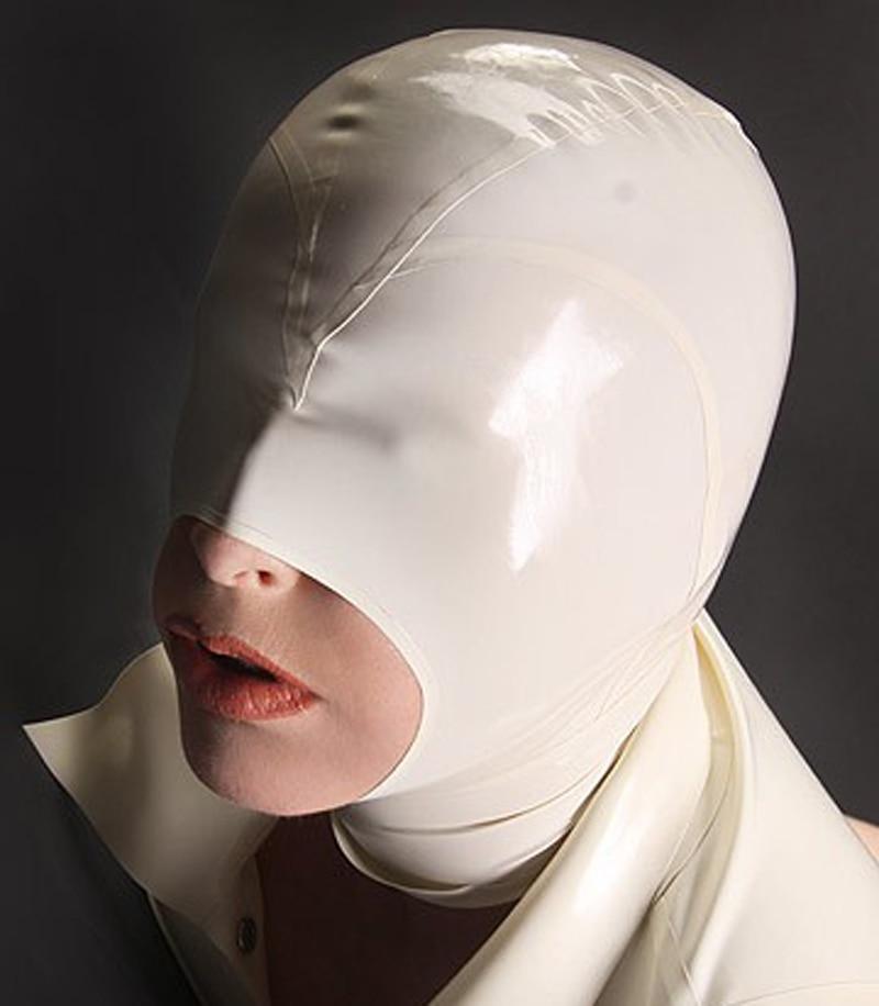 Նոր Arrive Latex- ի գլխարկի դիմակ `հետին - Կարնավալային հագուստները - Լուսանկար 2