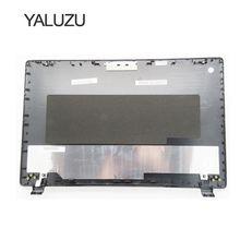 YALUZU สำหรับ ACER E5 571 E5 551 E5 521 E5 511 E5 511G E5 511P E5 551G E5 571G E5 531 แล็ปท็อป TOP LCD ปกหลังสีดำเปลือกกรณี
