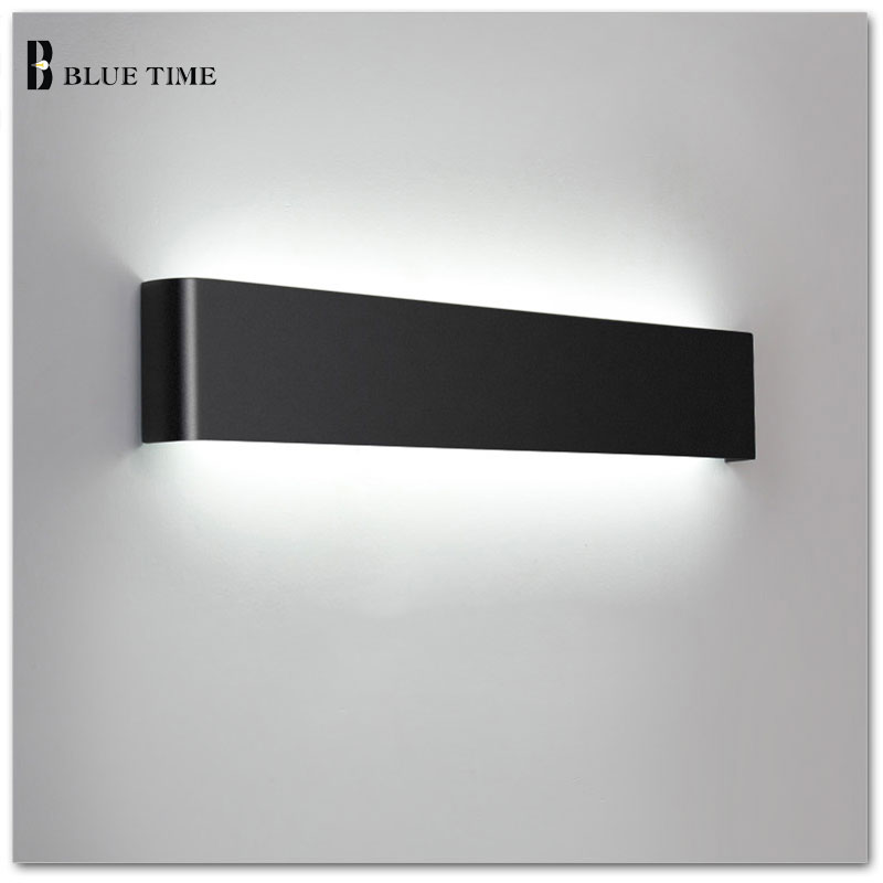 36W 111cm Bathroom Mirror Front Light Modern LED Wall Lamps Sconce Light For Indoor As Decoration Lighting Black White Finished36W 111cm Bathroom Mirror Front Light Modern LED Wall Lamps Sconce Light For Indoor As Decoration Lighting Black White Finished