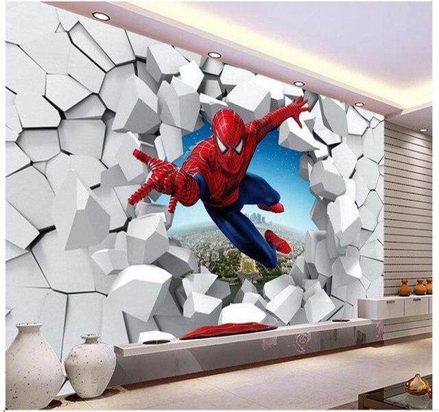 Popular spiderman wall paper buy cheap spiderman wall - Poster mural spiderman ...