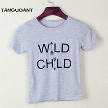 Boys T-Shirt New-Design Tops Short-Sleeve Kids Girl Summer Letter Children High-Quality