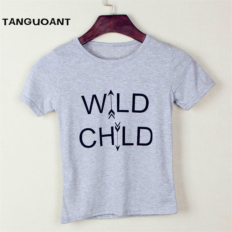 New Design Boy Clothing 2018 Summer Letter Short Sleeve Boys T Shirt High Quality Kids Tops Children Clothes In Shirts From Mother On
