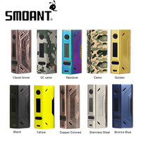 Original 200W Smoant Battlestar TC Box MOD without Battery for Spring loaded 510 pins/SS connector 25mm for E cig 2107 NEW