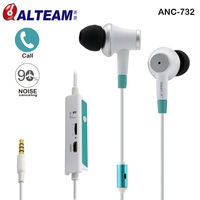 Wired Dynamic Clear Sound Hands Free 3 5mm Music Stereo In Ear Active Noise Cancelling Earphones