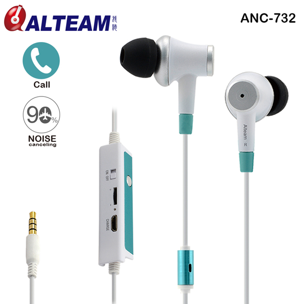 Wired Dynamic Clear Sound Hands-free 3.5mm Music Stereo In-Ear Active Noise Cancelling Earphones with Mic for Mobile Phone Calls golf baroque noise cancelling stereo sound 3 5mm jack music earphones for iphone 6 ipad samsung lg htc moto mobile phone earbuds
