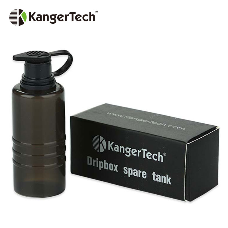 US $4 11 16% OFF|Original Kangertech Dripbox Spare Tank Handy Squeezable  Bottle Vape Spare Part for 160W/60W Kanger Dripbox e cigarette Accessory-in