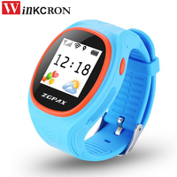 Kids GPS Tracker Smart Watch With SOS GPS LBS WIFI Bluetooth Positioning Life Waterproof For Android