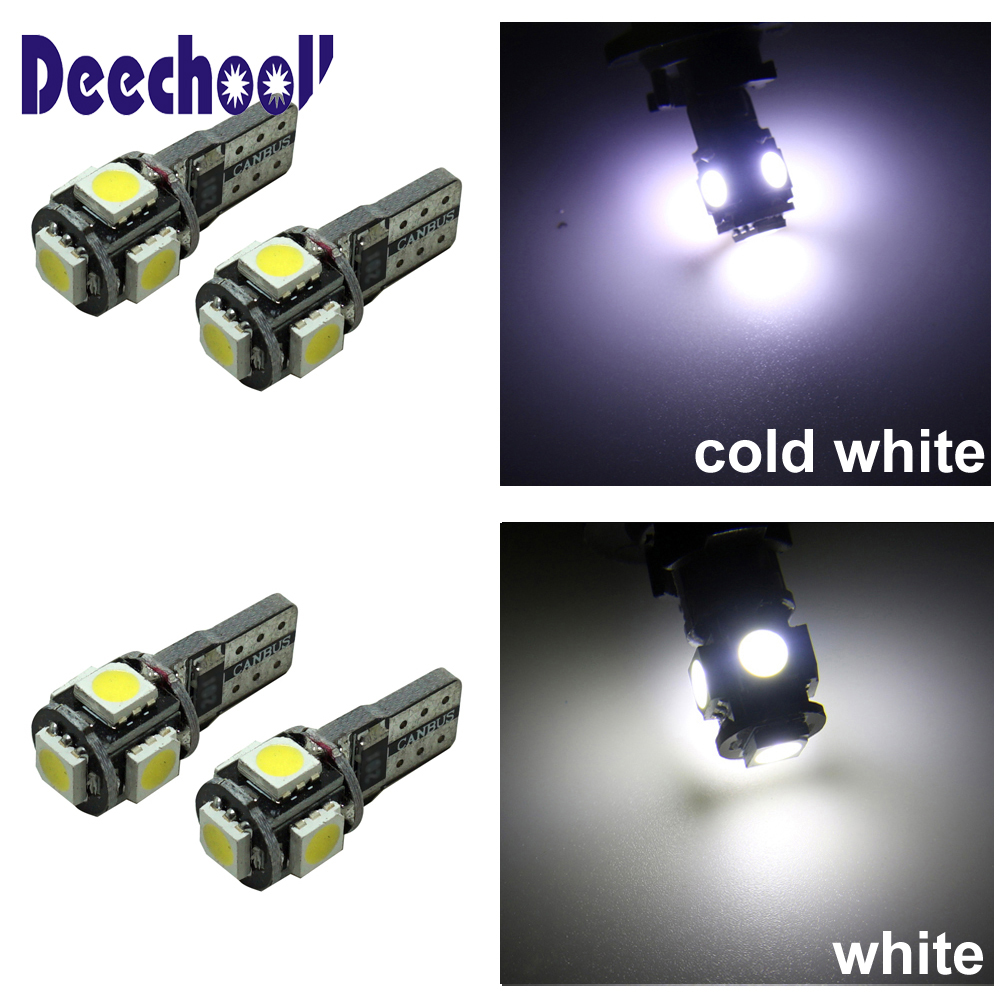 deechooll 8pcs Car LED Bulbs for Kia Sorento 2009-2014,Canbus White Interior Light for Kia Sorento II from 2009 Reading Lights