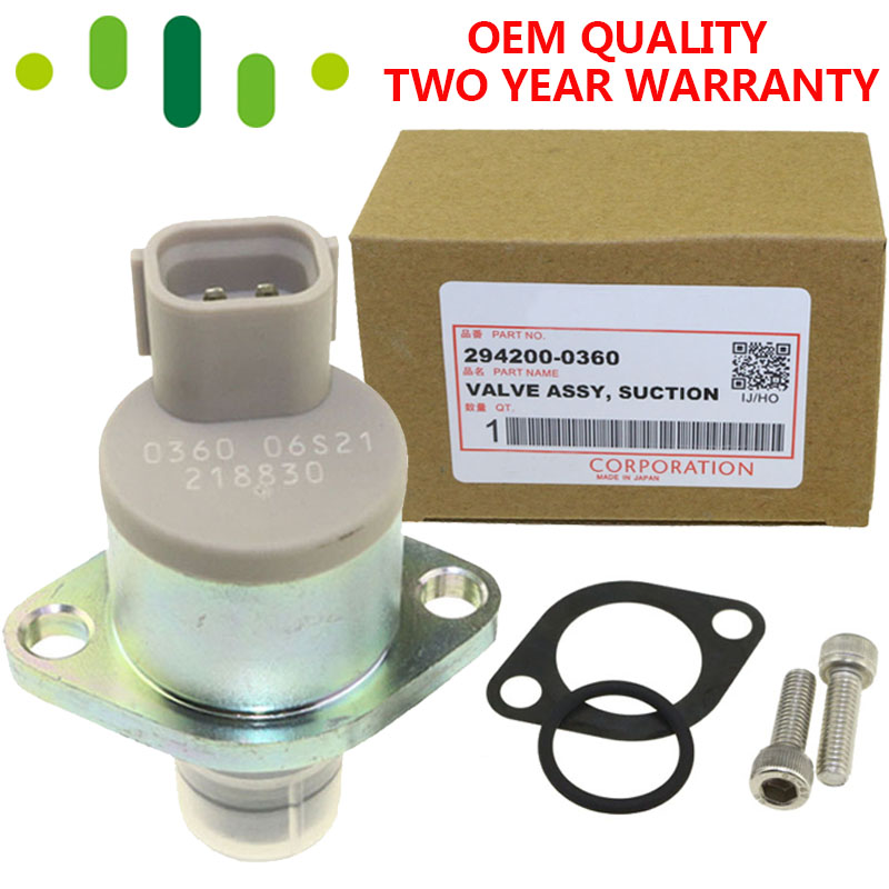 Pressure Suction Control Valve SCV For Holden Rodeo Toyota Hilux 3.0L 2942000360
