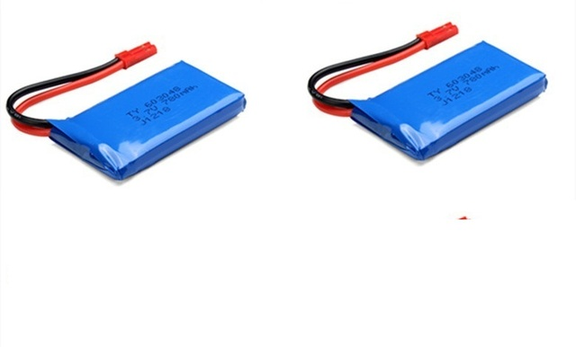 3.7V 730mah Li-po batery 2pcs V686 V686G V686K