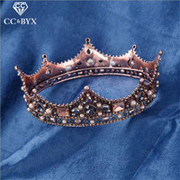 CC Jewelry Crowns Tiaras Hair Ornaments Tiara For Bride Handmade Wedding Hair Accessories For Women Crowns