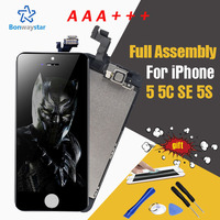 AAA Full Assembly LCD Display For Apple IPhone 5 5C 5S SE Screen Phone Parts Digitizer