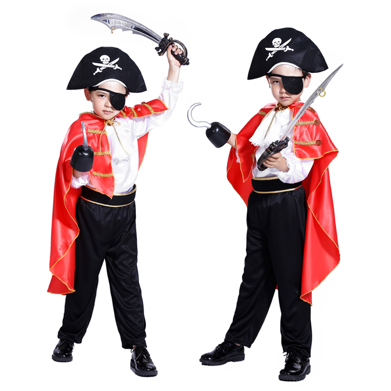 De nya piraterna i Karibien Halloween maskerade cosplay barndräkt - Maskeradkläder och utklädnad - Foto 5