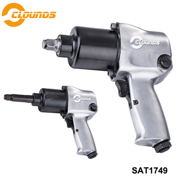 """SAT1749 High Quality Front Exhaust 488N-m Twin Hammer Pneumatic Car Repair Wrench 1/2"""" Air Impact Wrench"""