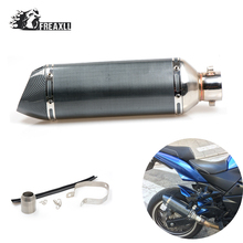 36-51MM Modified Motorcycle Exhaust Pipe Muffler  Moto Escape Universal ATV Scooter For Triumph Tiger 800