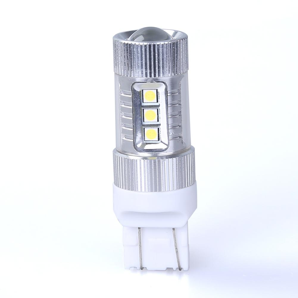 Xenon White 80w 12v T20 7443 Cree Chip Led Chip Car Tail Brake Stop Light Bulb Fog Lamp White