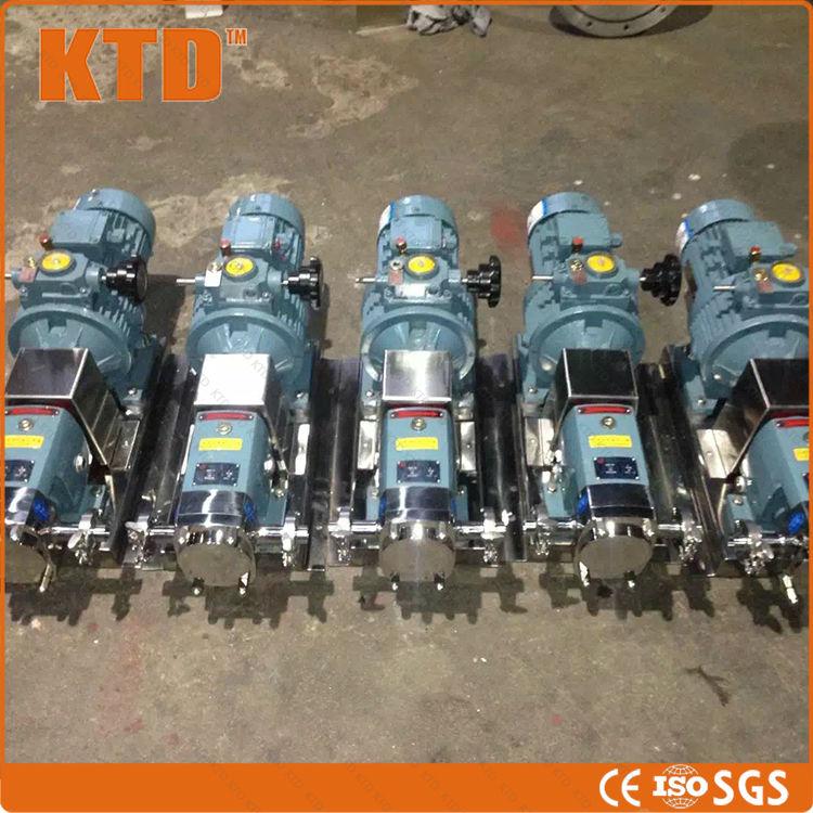 5600 11000L/H CE GMP ISO rotor pump kolbenpumpe drehkolbenpumpe in ...